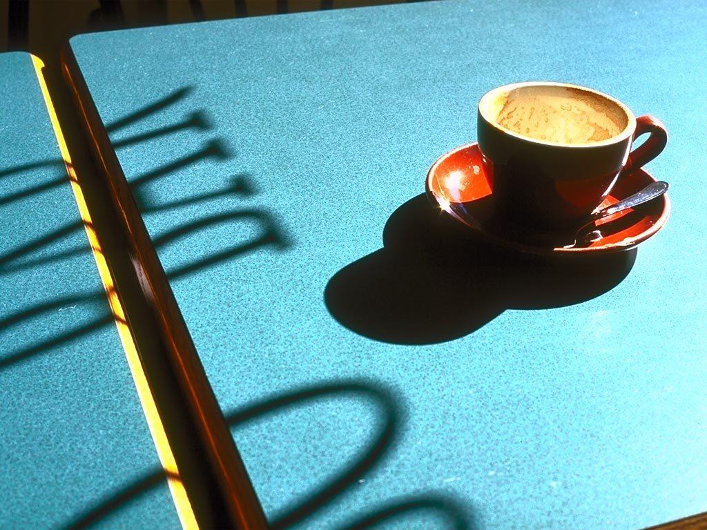 コワーキングスペースでのコーヒータイム