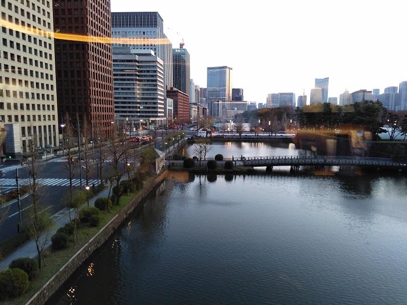 ビジネスエアポート東京の窓から見る景色