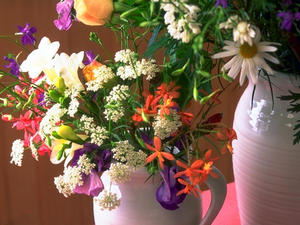 きれいな花の花瓶