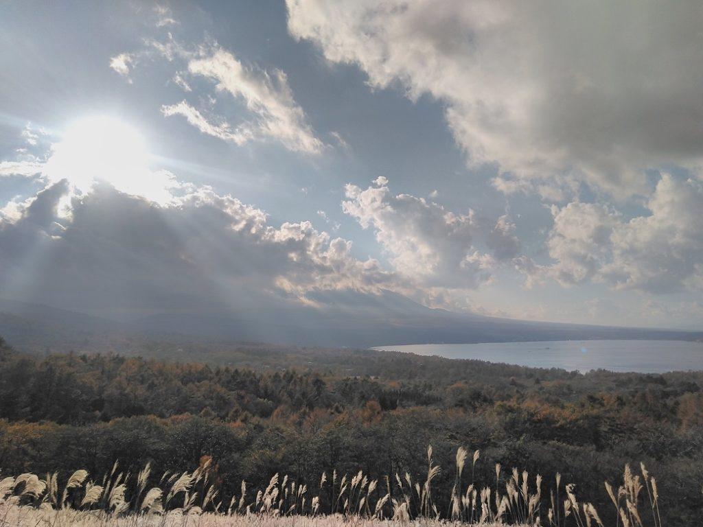 車中泊_丘からの景色